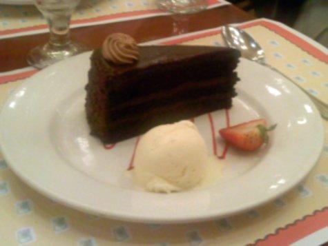 Dessert at Chefs de France in Epcot