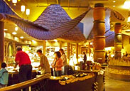 Boma is a family friendly buffet style restaurant.
