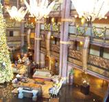 Disney's Animal Kingdom Lodge lobby