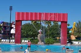 Fantasia Pool at All Star Movies Resort