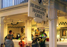 Hurricane Hannah's Poolside grill at Disney's Beach Club Resort