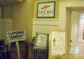Cape May Cafe at the Yacht Club Resort