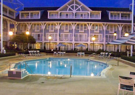 Quiet Pool at Disney's Beach Club Resort