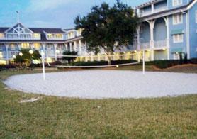 Sand Voleyball Court at The Beach Club