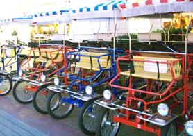 Enjoy a bike ride around the Boardwalk at the Boardwalk Inn