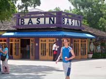 The Basin bath and Beauty shop in Downtown Disney Marketplace