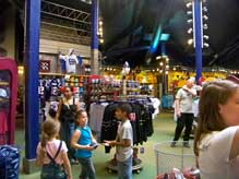 Inside the Team Mickey Store at Downtown Disney