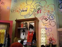 Inside the new TrenD shop in the Downtown Disney Marketplace