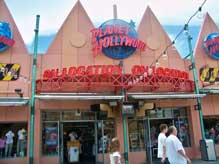 Planet Hollywood gift shop in Downtown Disney Westside