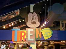 New TrenD shop in the downtown Disney Marketplace