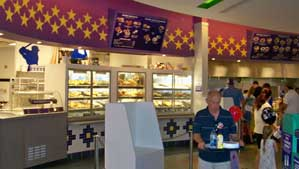 The counter Service food court at the All-Star Sports Resort