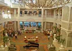 Lobby Band at the Grand Floridian Resort &Spa