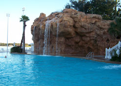 Florida Natural Spring pool at the Grand Floridian Resort