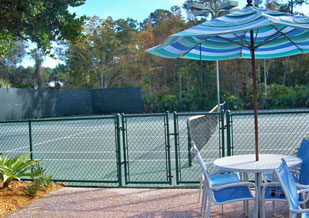 Tennis Courts at Disney's Old Key West Resort