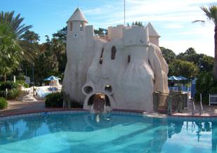 Main Pool at Disney's Old Key West