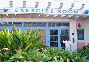 Fitness Room From Disney's Old Key West