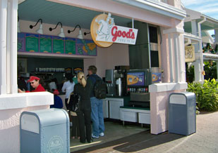 Gods Food to Go at Disney's Old Key west Resort