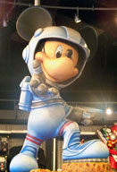 Mission Space Mickey at the Mission Space Pavilion
