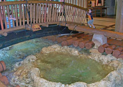 Bubbling Brook in Disney's Wilderness Lodge Lobby