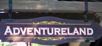 Adventureland in Magic Kingdom