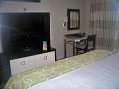 Master Bedroom Entertainment  Center at Bay Lake Tower
