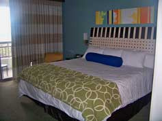 Disney's Bay Lake Tower Master Bedroom