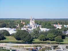 Magic Kingdom View from Bay Lake Tower