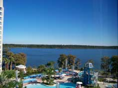 The View of Bay Lake from Bay Lake Tower