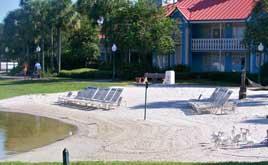 Sandy Beach at Caribbean Beach Resort