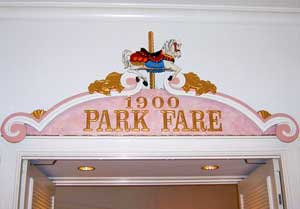 1900 Park Fair Restaurant at Disney's Grand Floridian Resort