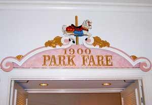 1900 Park Fair Restaurant at Disney's Grand Floridian Resort