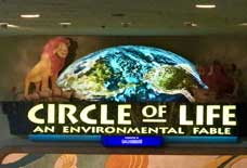 Circle of Life Movie at the Land Pavilion