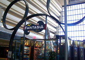 Fantasia Giftshop in the Contemporary resort at Disney World