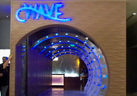 The Wave restaurant at the Contemporary Resort