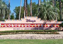 Entrance to Coronado Springs Resort