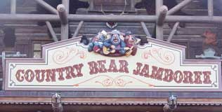 Country Bear Jamboree in Frontierland