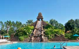 Mayan Temple Pool At Disney's Coronado Springs Resort