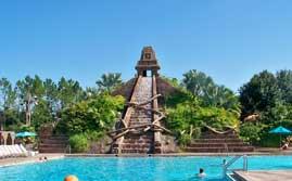 Mayan Temple Pool At Disney's Coronado Springs Resort