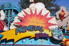 Primeval Whirl Roller Coaster at Disney's Animal Kingdom.