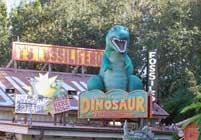 Dinosaur Treasure gift shop in DinoLand USA.