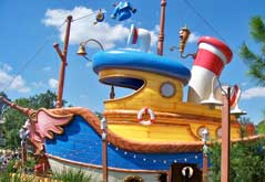 Donald's Boat is a water play area.
