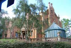 Haunted mansion in Magic Kingdom