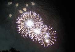 Wishes firework display at the Magic Kingdom