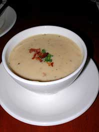 Cheddar Cheese Soup from La Cellier