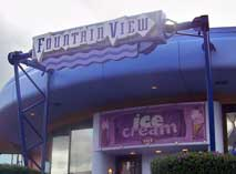 The Fountan view in Future World