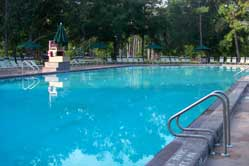 Main Swimming pool at Fort Wilderness Campground