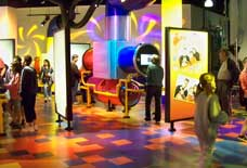 Image Lab in the Journey into imagination Attraction