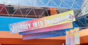 Journey into Imagination Attraction in Future World