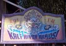 Kali River Rapids at Disney's Animal Kingdom.