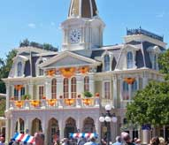 City Hall at Magic Kingdom